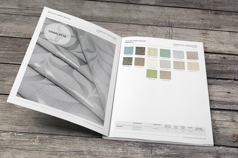 Charles Parsons Interiors Spotlight Sample Book